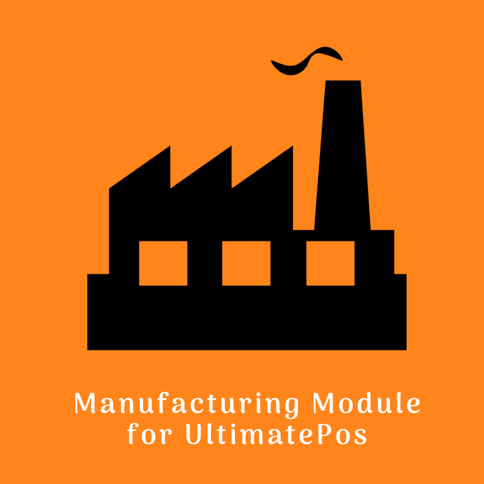 manufacturing module for ultimatepos