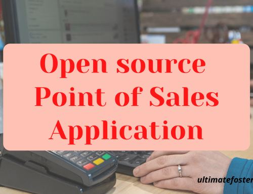 Open source point of sales application