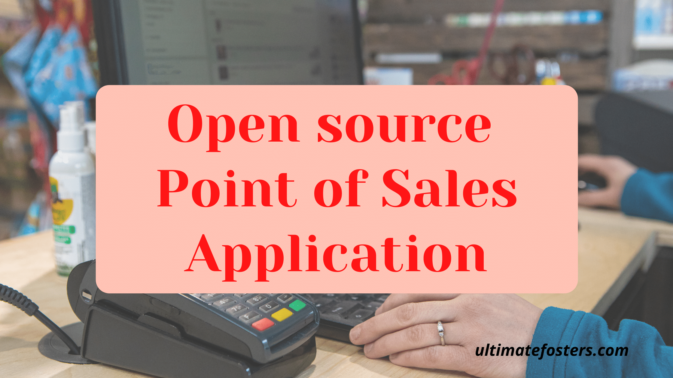 Open-source-point-of-sales-application